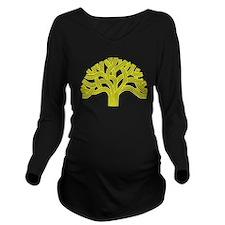 Cute Oakland Long Sleeve Maternity T-Shirt