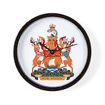New Bruswick Coat of Arms  Wall Clock