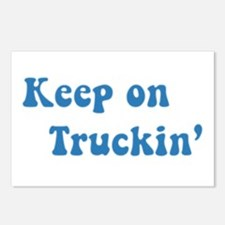 Keep on Truckin' Postcards (Package of 8)