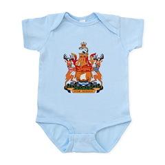 New Bruswick Coat of Arms Infant Creeper