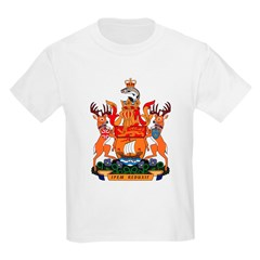 New Bruswick Coat of Arms Kids T-Shirt