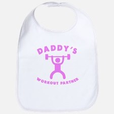 Daddys Workout Partner Bib