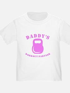 Daddys Workout Partner T-Shirt