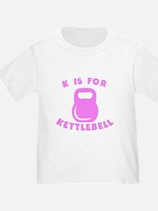 K Is For Kettlebell T-Shirt