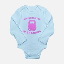 Weightlifter In Training Body Suit