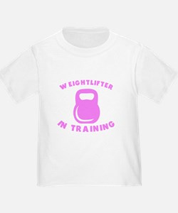Weightlifter In Training T-Shirt
