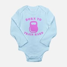 Born To Train Hard Body Suit