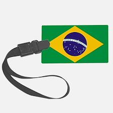 Brazilian Brazil Flag Luggage Tag