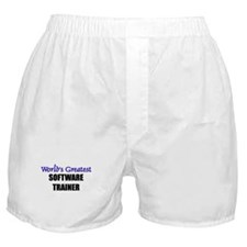 Worlds Greatest SOFTWARE TRAINER Boxer Shorts