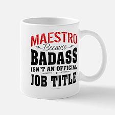 Maestro Badass Mugs