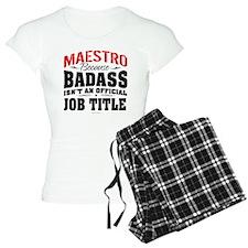 Maestro Badass Pajamas