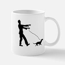 Zombie Dog Walker Mugs