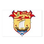 New Bruswick Coat of Arms  Postcards (Package of 8