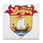 New Bruswick Coat of Arms  Tile Coaster