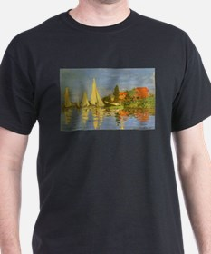 Claude Monet Regatta at Argenteuil T-Shirt