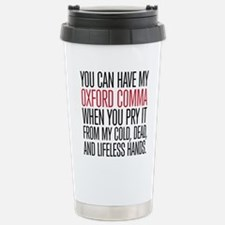 Oxford Comma Humor Thermos Mug