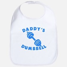 Daddys Dumbbell Bib