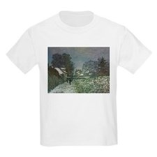 Snow at Argenteuil II by Claude Monet T-Shirt