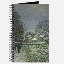 Snow at Argenteuil II by Claude Monet Journal
