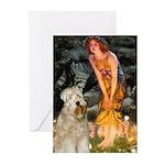 Fairies & Wheaten Terrier Greeting Cards (Pk of 20