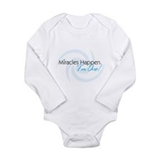Funny Daddys boy Long Sleeve Infant Bodysuit