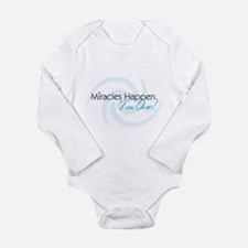 Cute Miracles Long Sleeve Infant Bodysuit