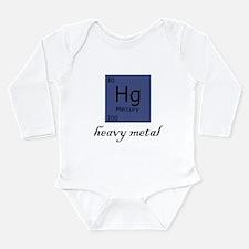 Unique Chemistry heavy metals Long Sleeve Infant Bodysuit