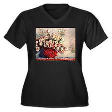 Claude Monet Still life with Chr Plus Size T-Shirt