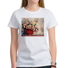 Claude Monet Still life with Chrysanthemum T-Shirt