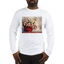 Claude Monet Still life with C Long Sleeve T-Shirt