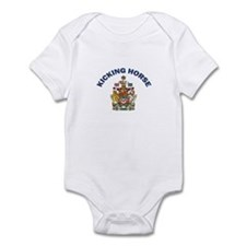 Kicking Horse Coat of Arms Infant Bodysuit