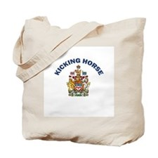 Kicking Horse Coat of Arms Tote Bag