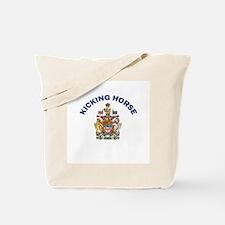 Kicking Horse Coat of Arms Tote Bag