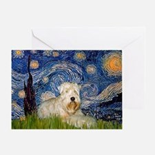 Starry / Wheaten T #1 Greeting Card