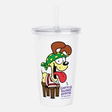 Odie The Stupid Acrylic Double-Wall Tumbler