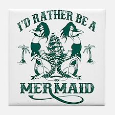 Mermaid Tile Coaster