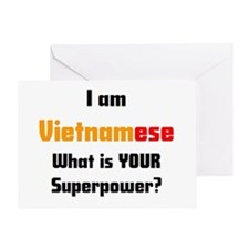 i am vietnamese Greeting Card