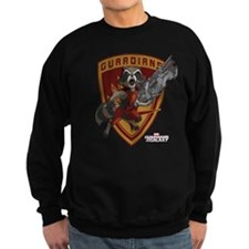 GOTG Animated Rocket Badge Jumper Sweater