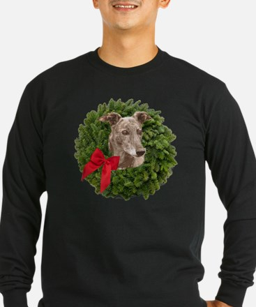 Greyhound in Christmas Wr T