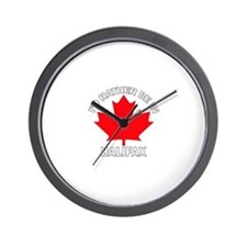 I'd Rather be in Halifax Wall Clock