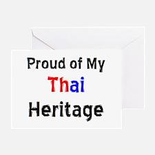 thai heritage Greeting Card