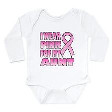Funny Real men wear pink Long Sleeve Infant Bodysuit