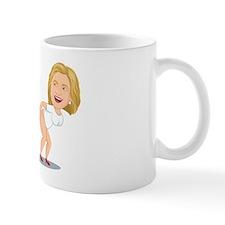 Hillary Clinton Wipes It Clean Mug Mugs