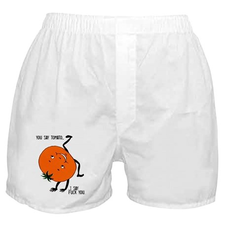 You Say Tomato Boxer Shorts