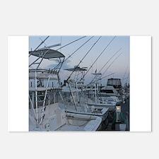 Cute Salt water fishing Postcards (Package of 8)