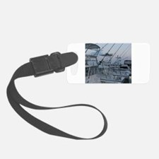 Cute Saltwater fishing Luggage Tag