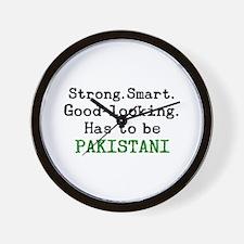 be pakistani Wall Clock