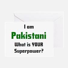 i am pakistani Greeting Card