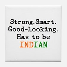 be indian Tile Coaster