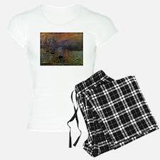 Impression, Sunrise by Clau Pajamas
